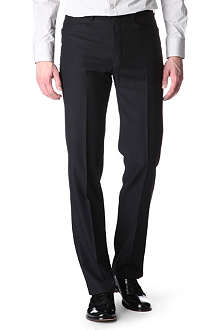 HUNTER GATHER Frogmouth slim-fit suit trousers