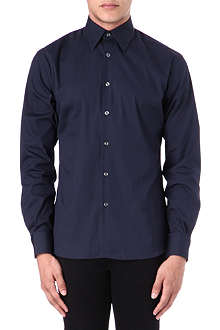 HUNTER GATHER Classic-fit poplin shirt
