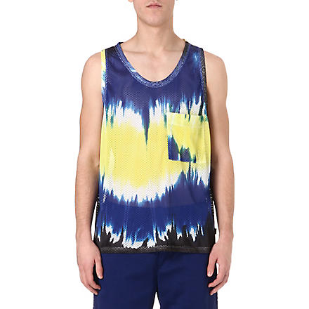 MSGM Tie-dye pocket vest (Multi