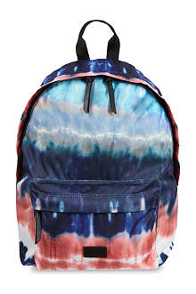 MSGM Tie dye backpack