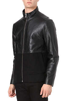 OAK Combo Racer leather jacket