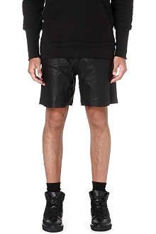 OAK Leather basketball shorts