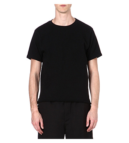 OAK Cotton-blend t-shirt (Black