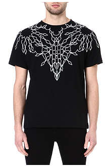 MARCELO BURLON Maxime creeper t-shirt