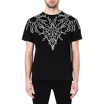MARCELO BURLON Maxime creeper t-shirt (Black
