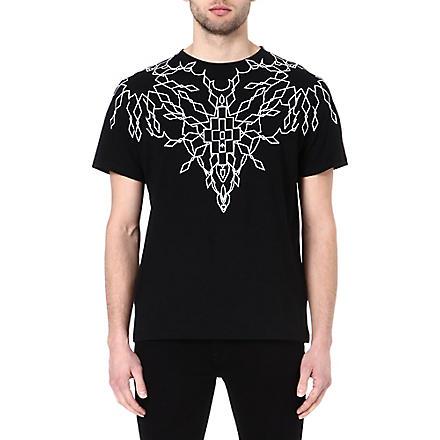 MARCELO BURLON Maxime creeper t-shirt (Black