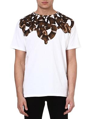MARCELO BURLON Moon snake t-shirt