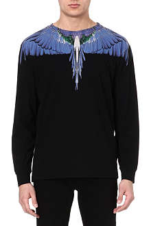 MARCELO BURLON Alas Wings top