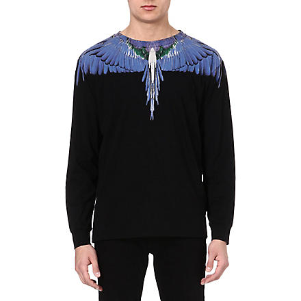 MARCELO BURLON Alas Wings top (Black