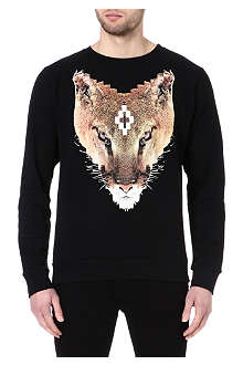 MARCELO BURLON Colin fox sweatshirt
