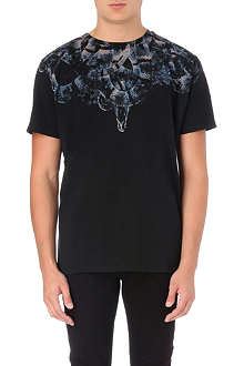 MARCELO BURLON Moon Snake cotton-jersey t-shirt