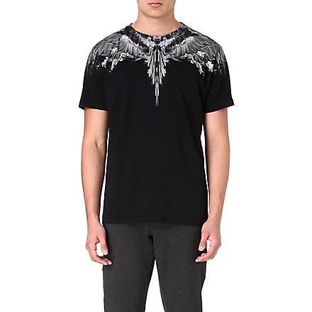 MARCELO BURLON Alas Agua Wings t-shirt (Black