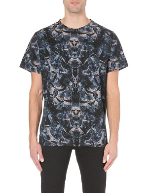 MARCELO BURLON All-over snake-print t-shirt