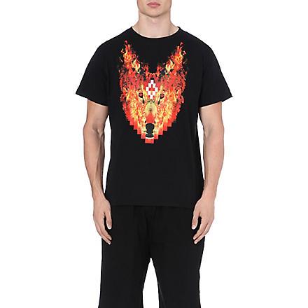 MARCELO BURLON Phil Fire t-shirt (Black