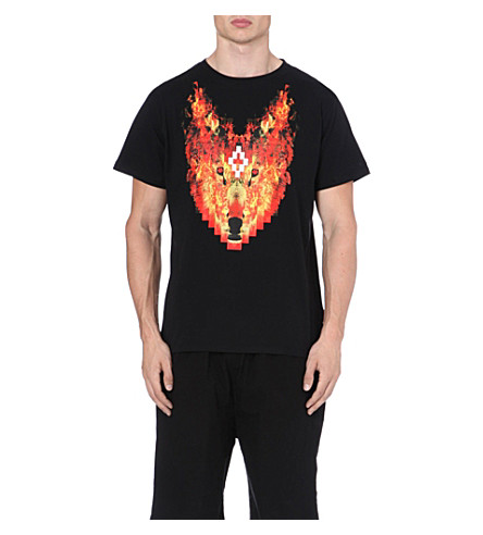MARCELO BURLON Phil Fire t-shirt (Black