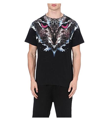 MARCELO BURLON Cabeza Lechuza t-shirt (Black