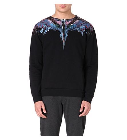 MARCELO BURLON Alas Agua sweatshirt (Black