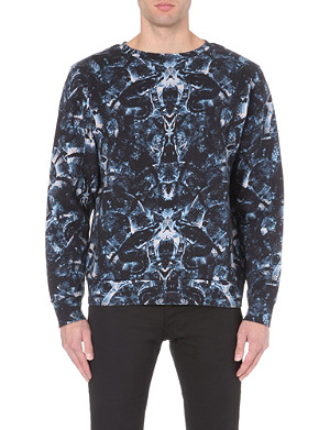 MARCELO BURLON All-over snake-print sweatshirt