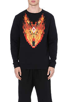 MARCELO BURLON Phil Fire sweatshirt