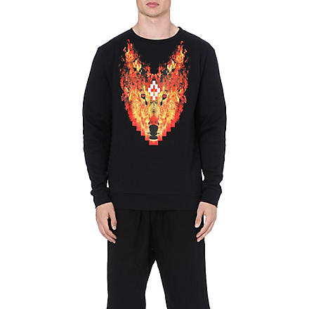 MARCELO BURLON Phil Fire sweatshirt (Black