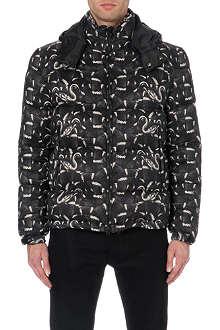 MARCELO BURLON Snake-print quilted jacket