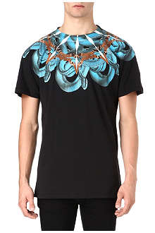 MARCELO BURLON Shoulder snake t-shirt