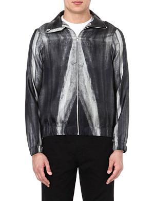 PIGALLE Dégradé silk bomber jacket