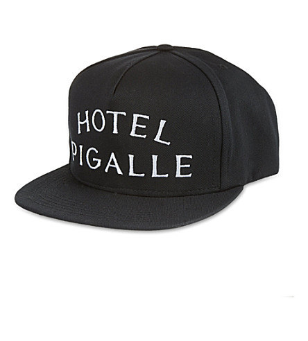 PIGALLE Hotel Pigalle cap (Black