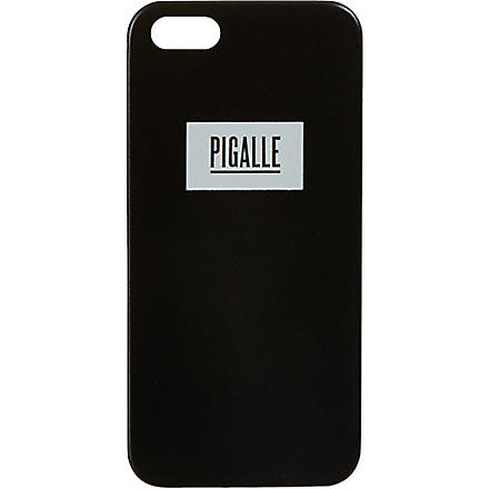 PIGALLE Logo iPhone 5 case (Black