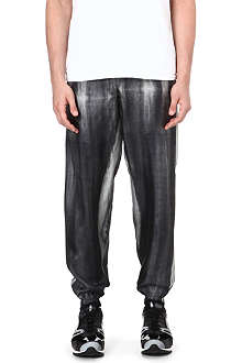 PIGALLE Abstract print jogging bottoms