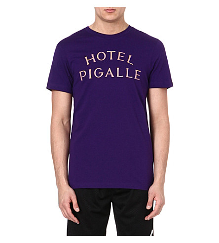 PIGALLE Hotel Pigalle t-shirt (Purple