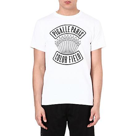 PIGALLE Branded t-shirt (White