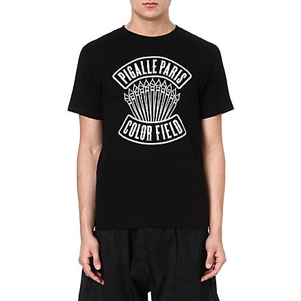 PIGALLE Paris Color Field t-shirt (Black