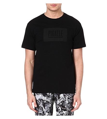 PIGALLE Classic logo t-shirt (Black/black