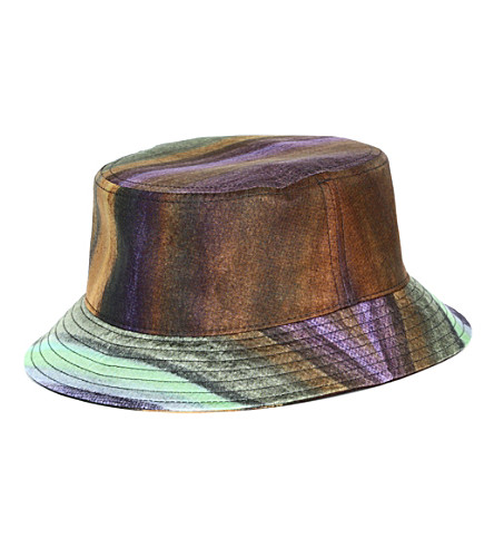 PIGALLE Dégradé bucket hat (Multi