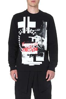 BAZAR-14 Digital-print sweatshirt