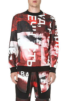 BAZAR-14 Photo-print sweatshirt