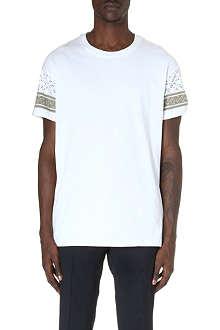 MR.HARE Printed-sleeve t-shirt