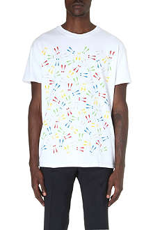 MR.HARE Rainbow Exclamation Mark t-shirt