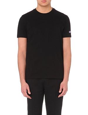 REVERSE WEAVE + CHAMPION Reverse Weave athletic cotton t-shirt