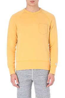 TODD SNYDER + CHAMPION Vintage cotton-blend sweater