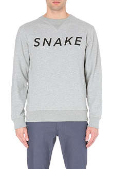 SATURDAYS SURF NYC Bowery Snake cotton-jersey sweatshirt