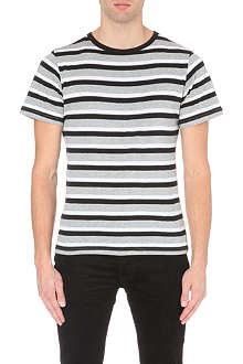 SATURDAYS SURF NYC Brandon striped cotton-jersey t-shirt