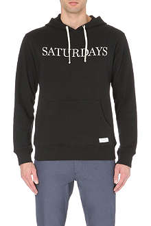 SATURDAYS SURF NYC Ditch cotton-jersey hoody