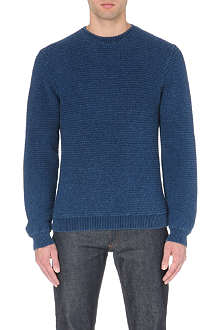 SATURDAYS SURF NYC Everyday Horizontal Rib knitted jumper