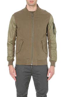 MAHARISHI Reversible bomber jacket