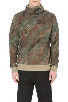 MAHARISHI Disruptive camouflage hoody