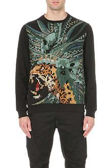 MAHARISHI Pixel Leopard sweatshirt