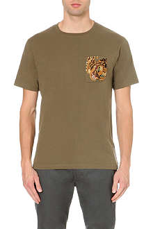 MAHARISHI Embroidered Tiger t-shirt