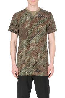 MAHARISHI Camouflage cotton-jersey t-shirt